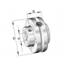 Упорно-радиальные игольчатые роликоподшипники ZAXFM0535