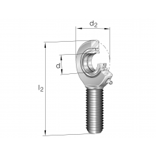 Шарнирные головки GAL50-DO-2RS
