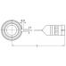 Сенсорные подшипники с неподвижным наружным кольцом - BMB-6209/080S2/UB108A