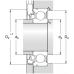 Сенсорные подшипники с неподвижным наружным кольцом - BMO-6204/048S2/UA008A
